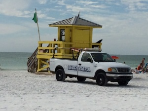 life guard tower photo